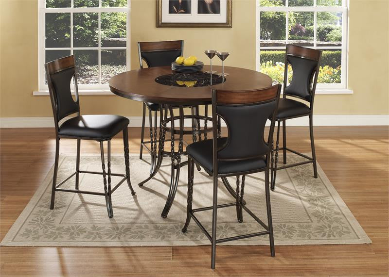 McFerran ADYN4836 5 Pc Formal Dining Set
