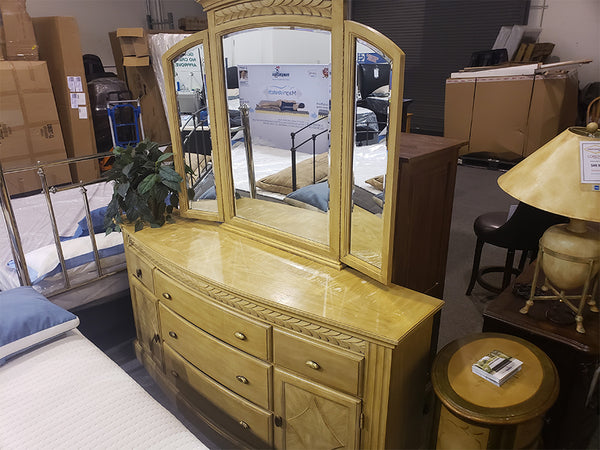 Dresser and Mirror -  Floor Model Clearance