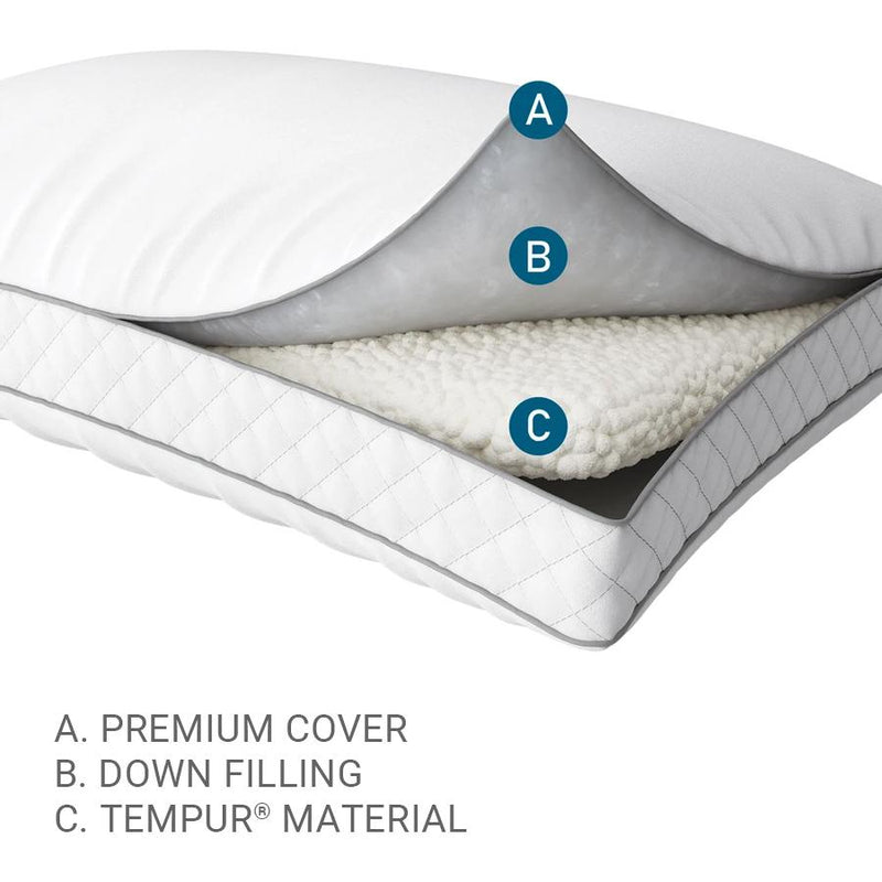 Tempur-Pedic TEMPUR-Down Precise Support Pillow