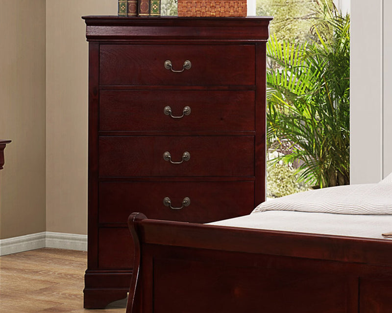 Universal Louis Phillip 5 Drawer Chest