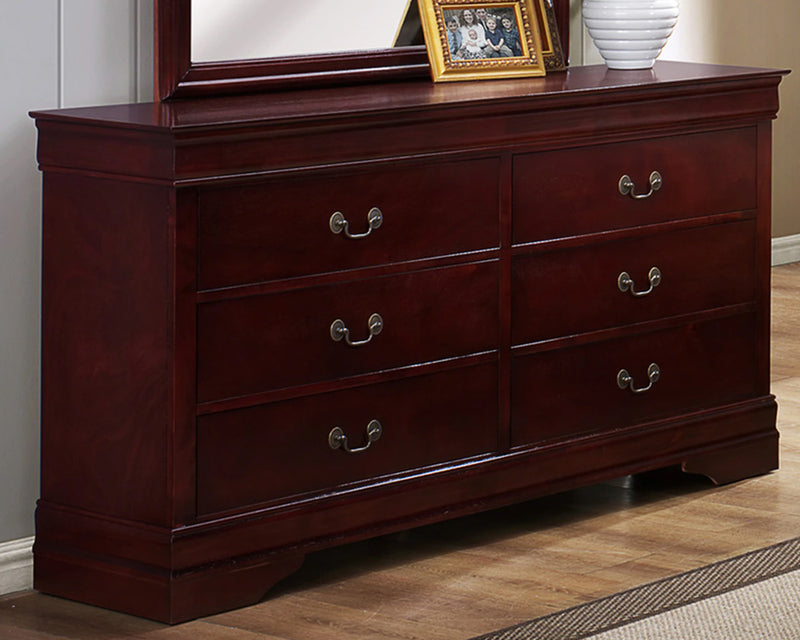 Universal Louis Phillip 6 Drawer Dresser