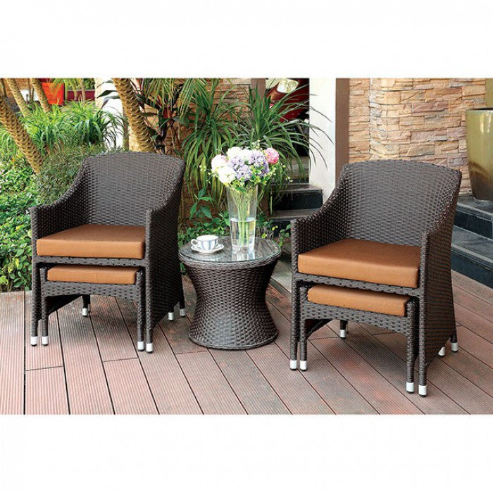 Furniture of America Almada Outdoor Furniture Set