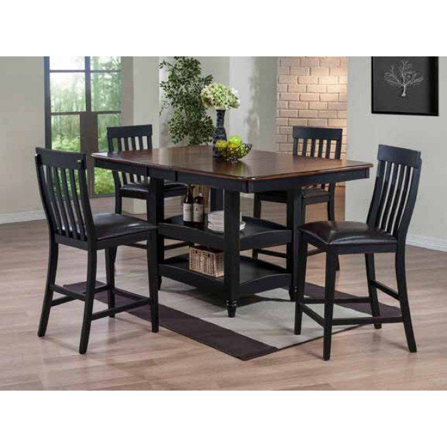 McFerran COU-4266 5 Pc Formal Dining Set