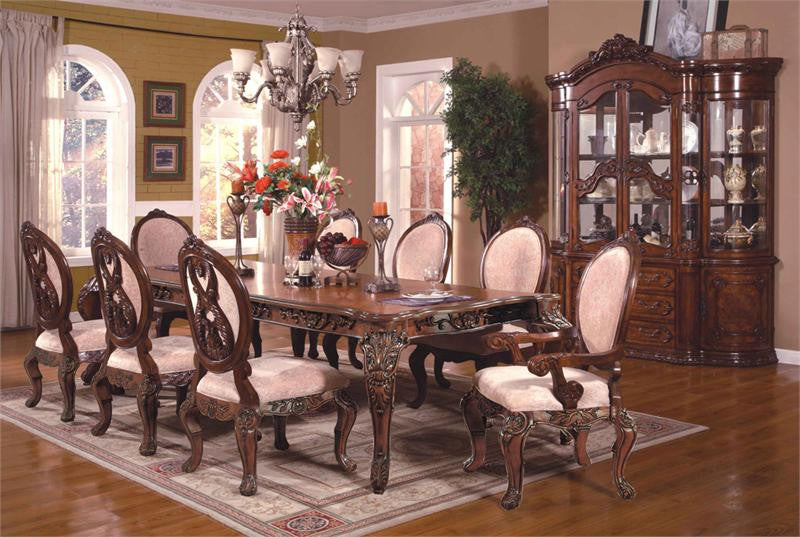 McFerran Home Furnishings RD0017 7 Piece Dining Room Set
