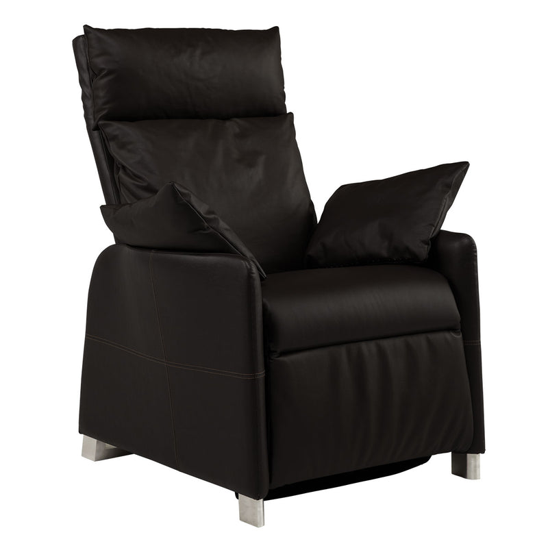 positive posture sora recliner raven side view
