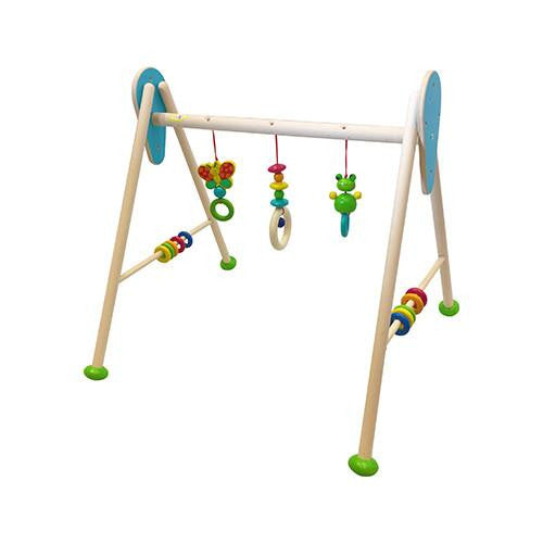 Baby Gym-Hess-Developmental toys for babies, infants and toddlers. Sustainably sourced, gender neutral, wooden baby toys.