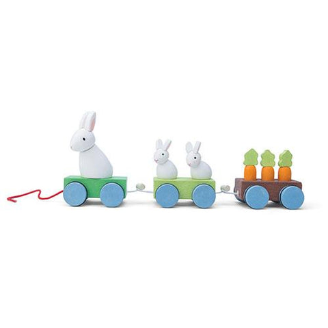 Bunny Train-Le Toy Van-Developmental toys for babies, infants and toddlers. Sustainably sourced, gender neutral, wooden baby toys.