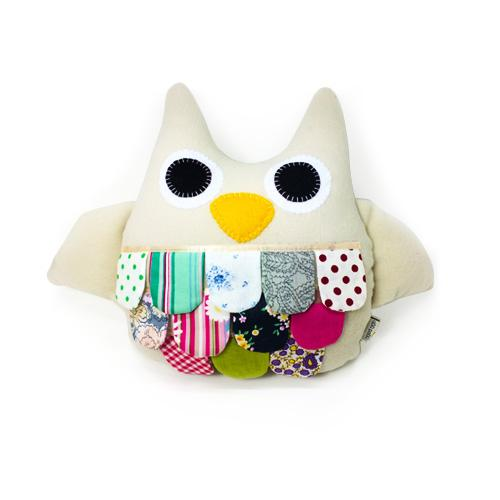 Hoot the Owl- Cream-Aciu Paciu-Developmental toys for babies, infants and toddlers. Sustainably sourced, gender neutral, wooden baby toys.