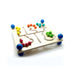Motorskills Activity Board-Hess-Developmental toys for babies, infants and toddlers. Sustainably sourced, gender neutral, wooden baby toys.