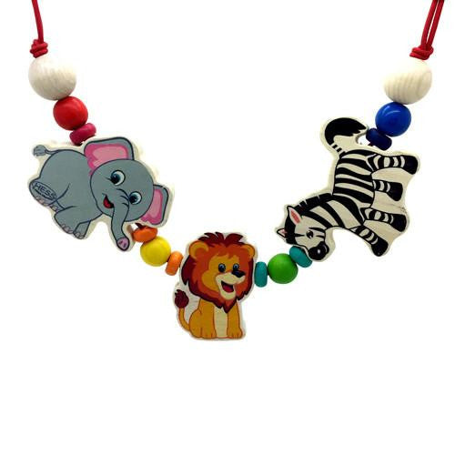 Themed Bead Pram String-Hess-Developmental toys for babies, infants and toddlers. Sustainably sourced, gender neutral, wooden baby toys.
