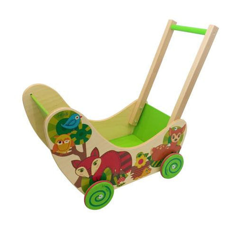 Woodland Wildlife Play Cart-Hess-Developmental toys for babies, infants and toddlers. Sustainably sourced, gender neutral, wooden baby toys.