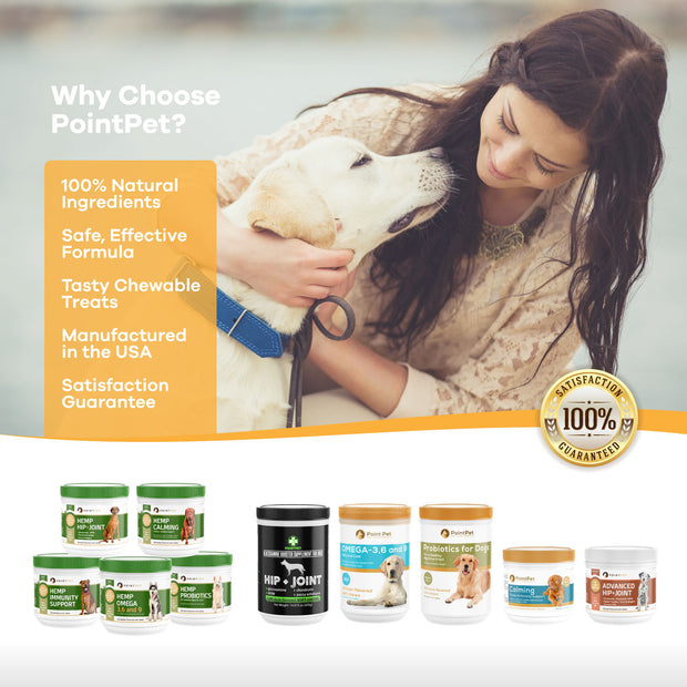 Pointpet® Hemp Hip + Joint