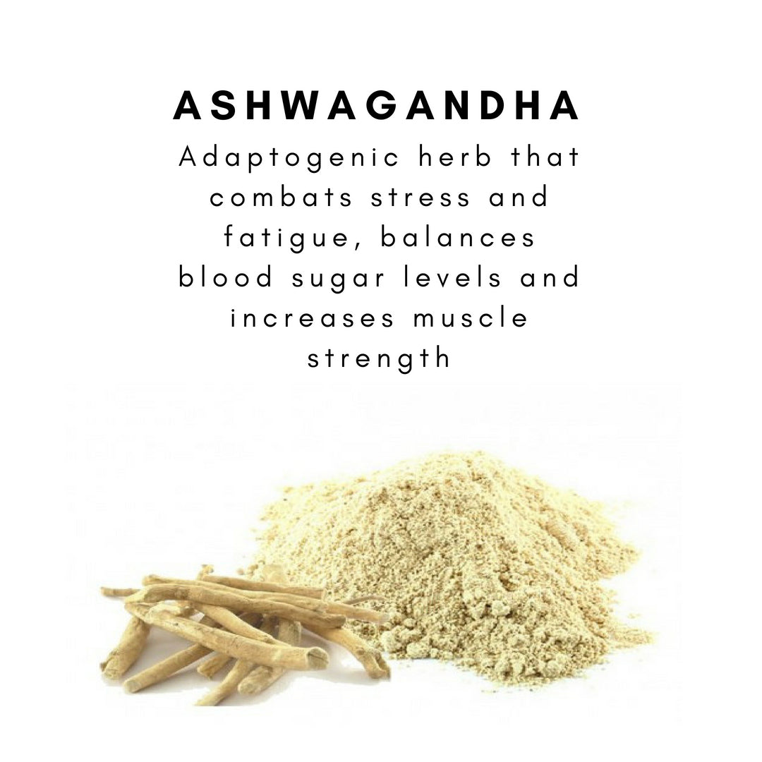 organic ashwagandha powder · 100g  the matcha reserve