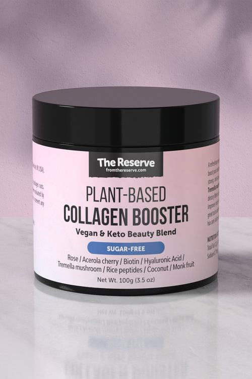 Plant based collagen booster