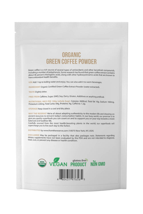 Organic Green Coffee