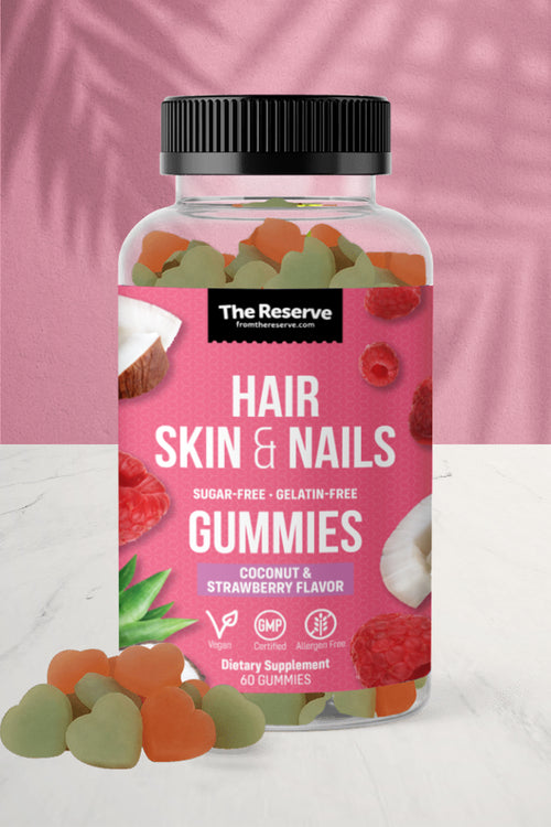 Hair, Skin & Nails Gummies - Sugar Free & Vegan