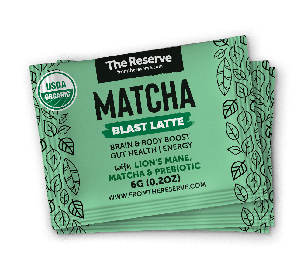 SAMPLE - Matcha Blast Latte