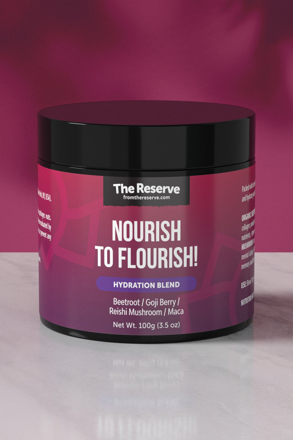 Nourish, to Flourish!