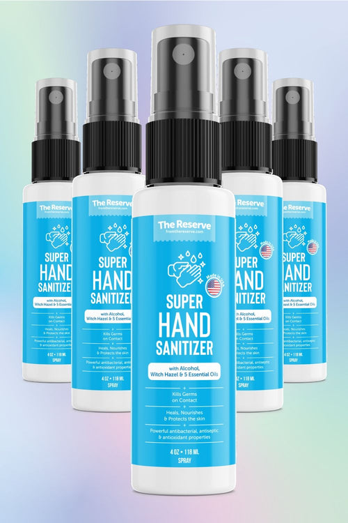 Hand Sanitizer Pack - 5 Bottles