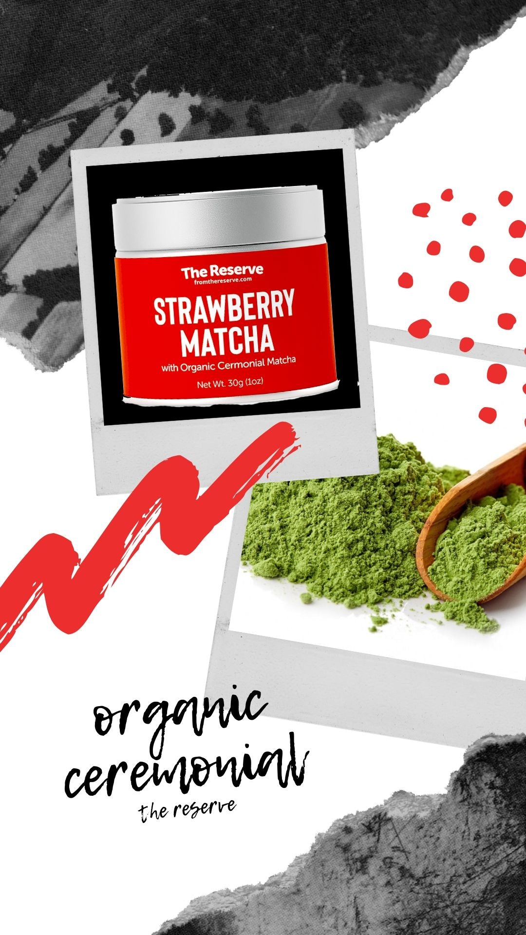 Organic Strawberry Matcha