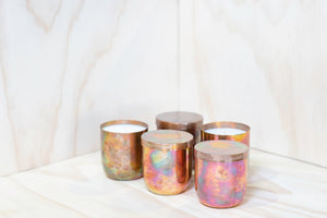 Limited Edition Brazed Copper Candle