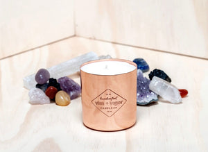 all natural handmade copper candle