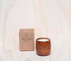No. 132 oak + teakwood