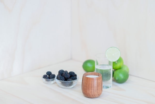 No. 142 blackberry + lime fizz