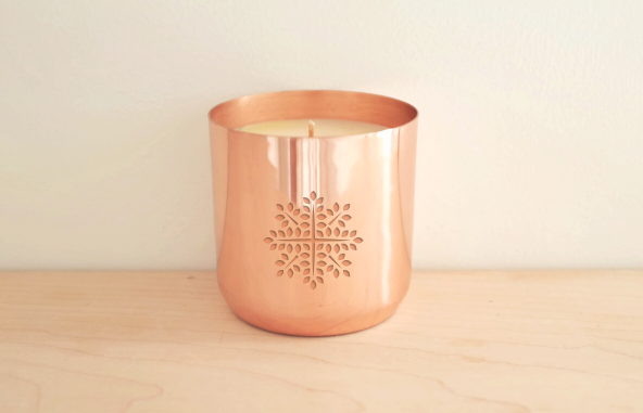 Limited Edition - Snowflake Candle