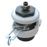 Leveling Caster | FootMaster GDR-60S with Ratchet Adjustment & 12mm Threaded Stem