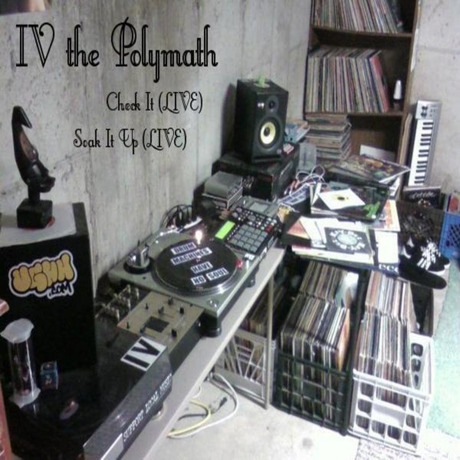LIVE! LIVE! LIVE! by IV the Polymath