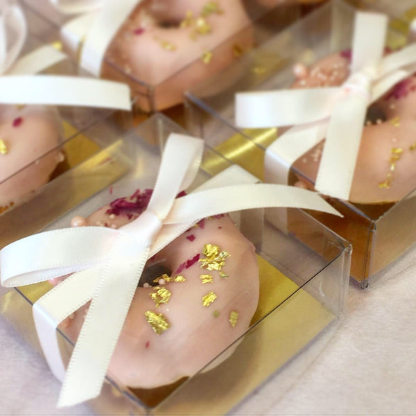 Boxed Doughnut Favours