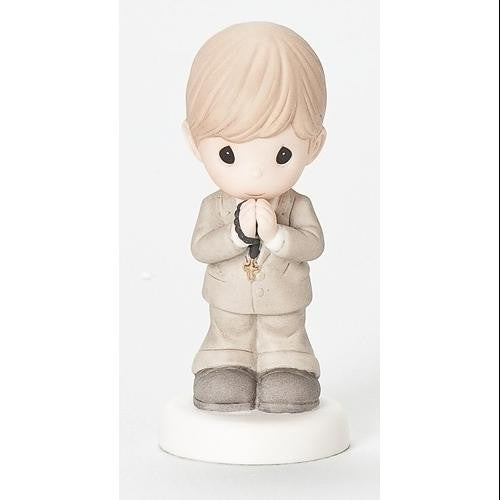 "4.75""H Precious Moments First Communion Figure Boy"
