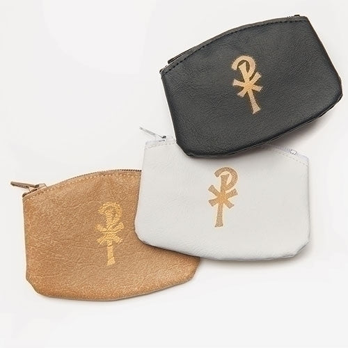 Rosary Case- White Zippered