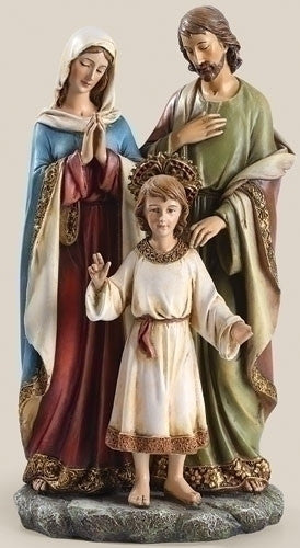 "Holy Family Figure 9.75""H Renaissance Collection from Joseph's Studio for Roman Inc."