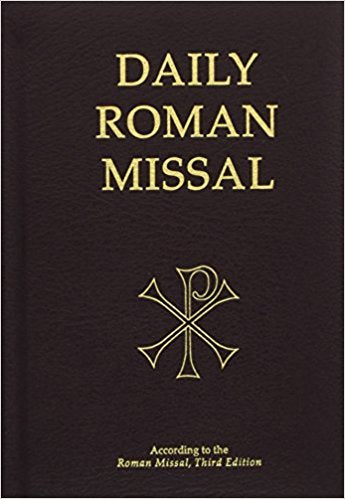 Daily Roman Missal  Black