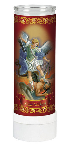 Saint Michael Electric Candle