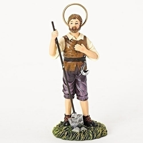 St. Isidore Boxed Statue-Patrons and Protectors