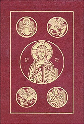 The Ignatius Bible: Revised Standard Version, Second Catholic Edition Leather Bound-Burgundy