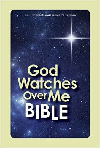 NIrV, God Watches Over Me Bible, Hardcover