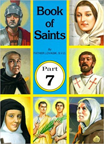 Book of Saints, Part 7 (St. Joseph Picture Book)
