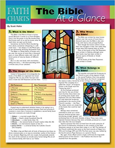 The Bible at a Glance (Faith Charts)