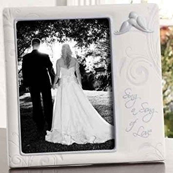 Sing a Song of Love Wedding Frame by Roman Inc.