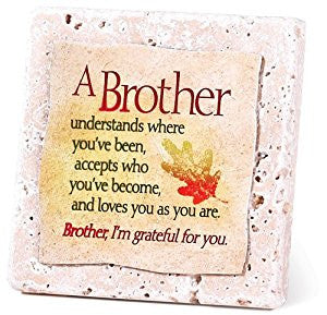 Brother-Tabletop Tile Plaque from Dickson's Gifts