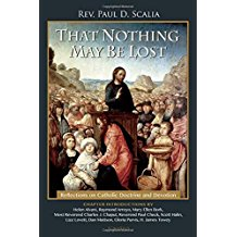 That Nothing May Be Lost: Reflections on Catholic Doctrine and Devotion by Rev. Paul D. Scalia
