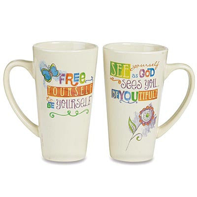 BeYoutiful Java Mug from Abbey Press