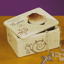 Baptism Trinket Box