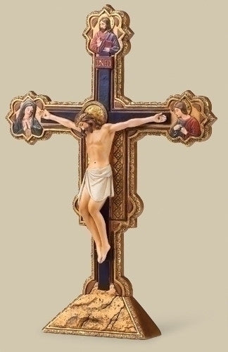 "10""H Ognissanti Table Crucifix from Joseph's Studio for Roman Inc."