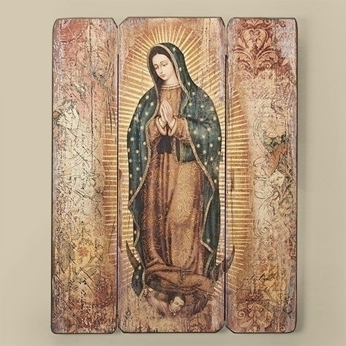 "17""H Our Lady of Guadalupe Panel from Joseph's Studio for Roman Inc."