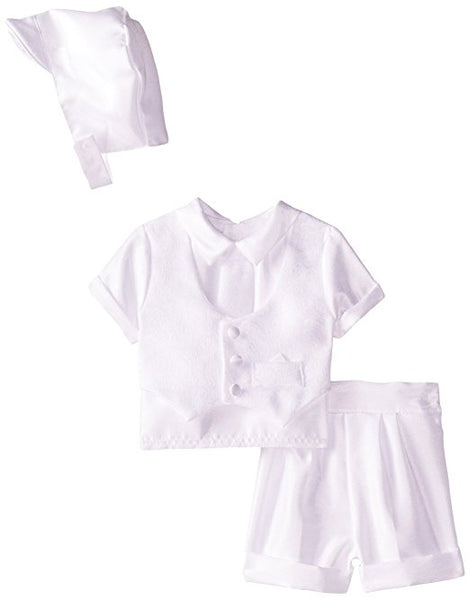 9-12 Month Boy Baptism Outfit Short set #1431